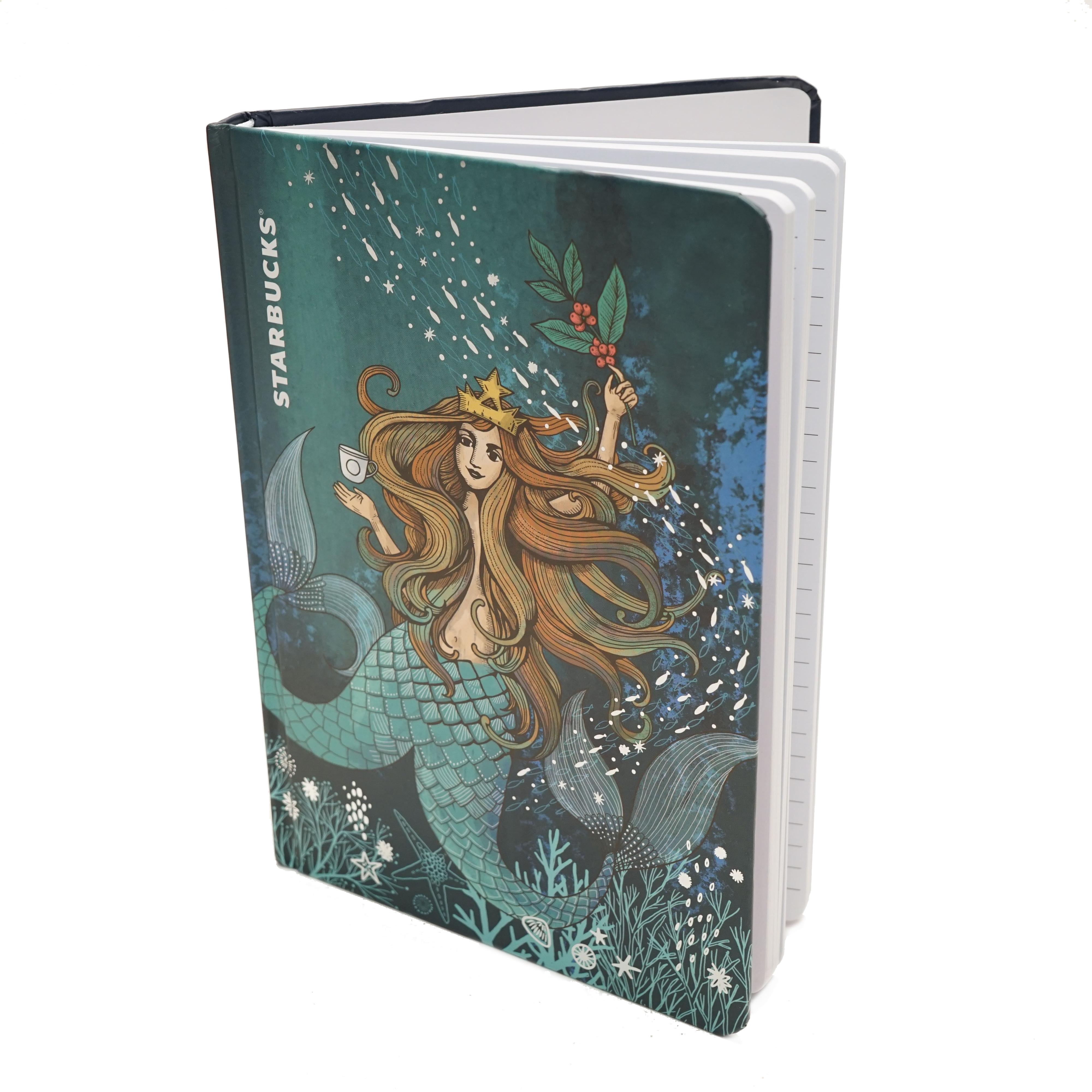 Starbucks Siren Notebook