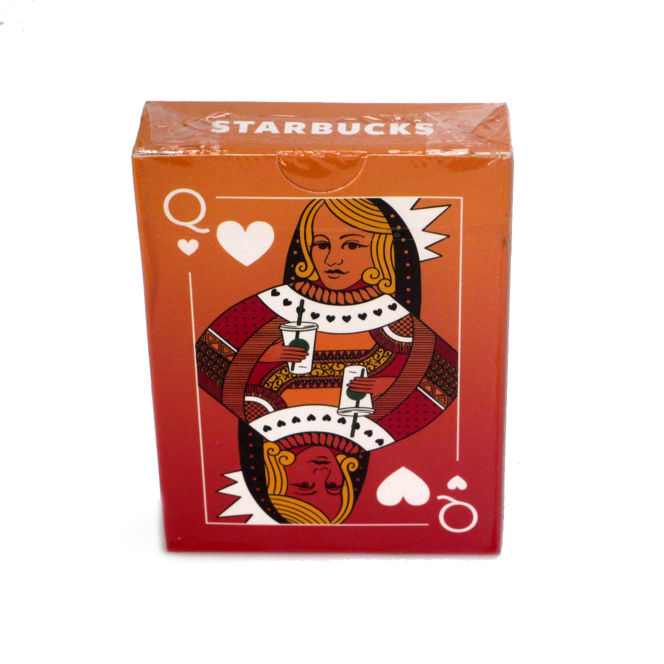 Playing card deck for Starbucks