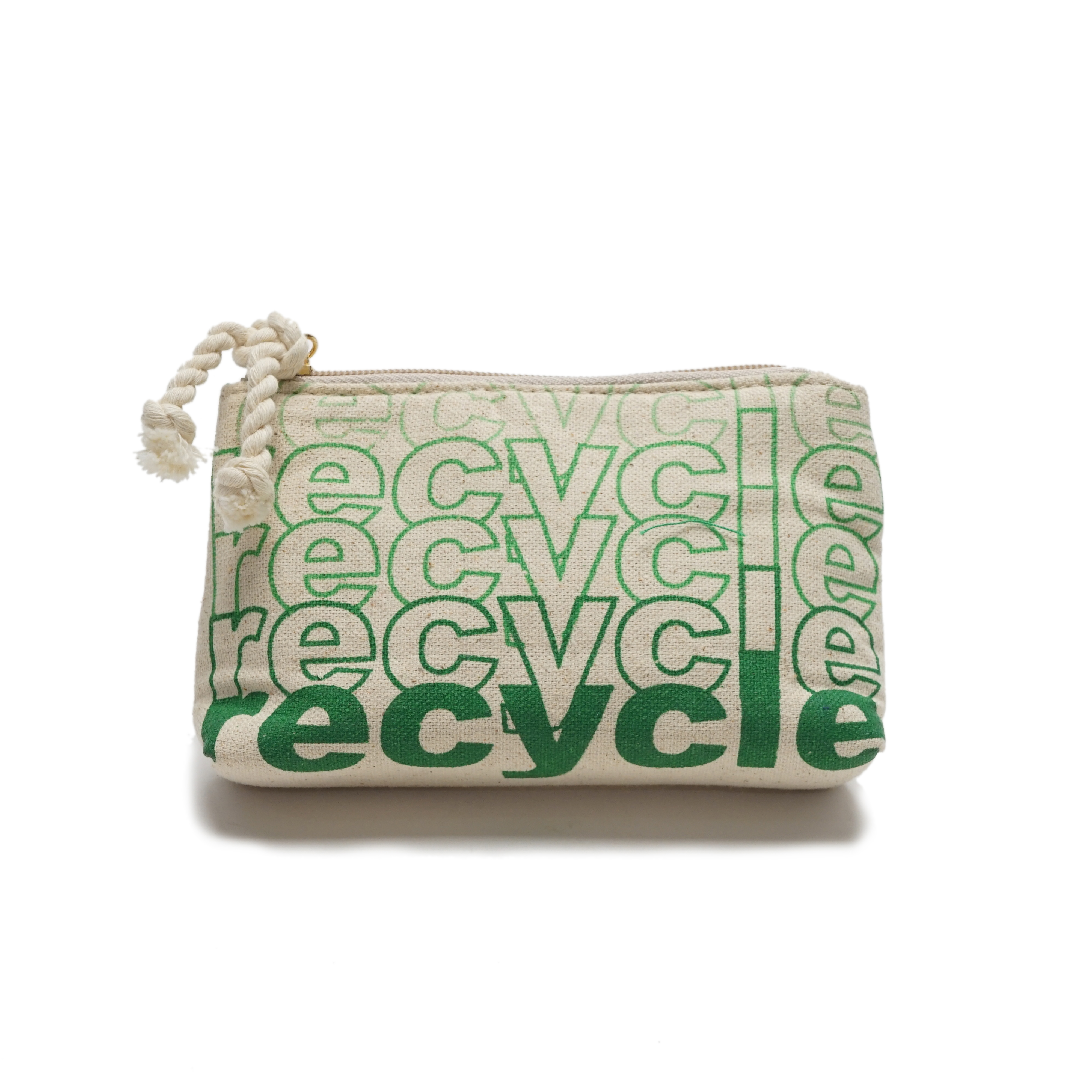 Recycled canvas pouch